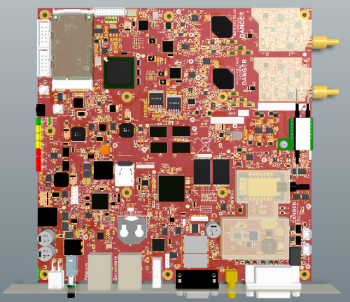 cortex A8 measurement card